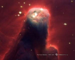 Cone Nebula _NGC 2264_ - Star-Forming Pillar of Gas and Dust